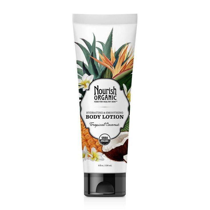 Organic Body Lotion (Tropical Coconut)