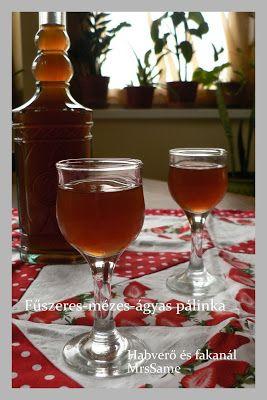 Habverő és fakanál: Fűszeres-mézes-ágyaspálinka