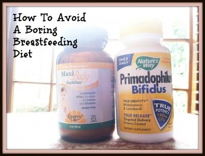 How To Avoid A Boring Breastfeeding Diet