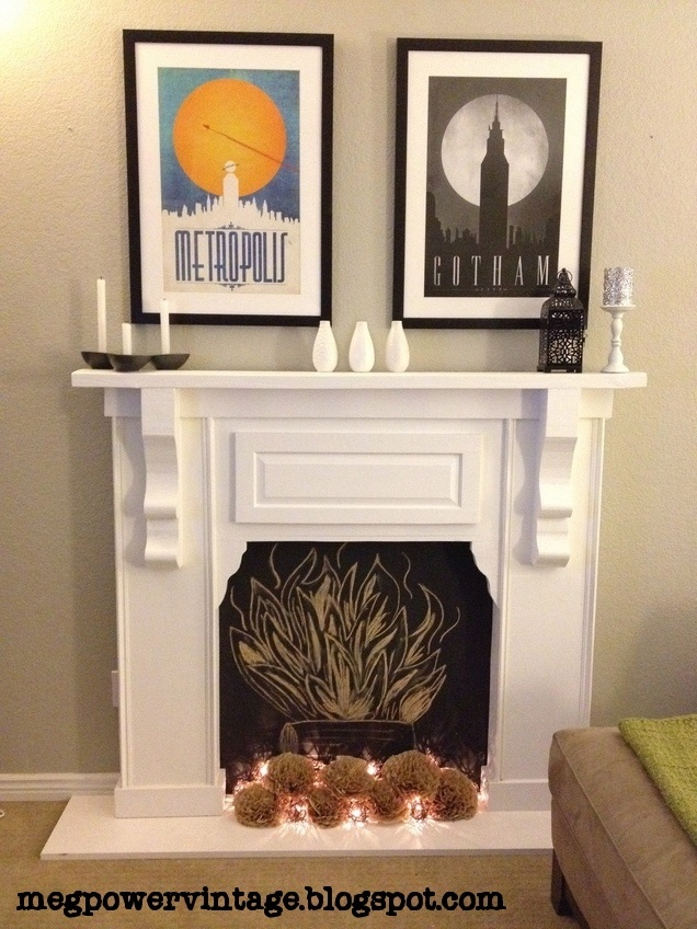71 best diy fireplaces images on pinterest fire places fake diy faux fireplace only if i dont get a fireplace solutioingenieria Gallery
