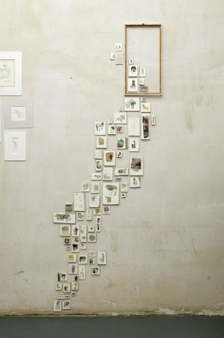 Overflowing picture frame. Love it!