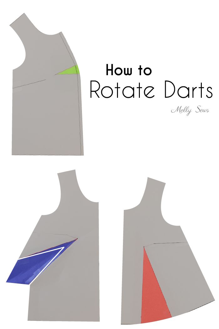 Today I want to share with y'all a bit about rotating darts in sewing patterns. This is one of the basics of pattern design manipulation, and once you get it down, there is a never-ending number of styles you can create. As a quick overview of the concept, I made this little video, which you Read the Rest...