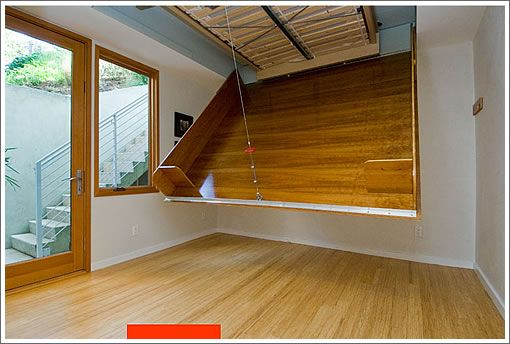 Murphy Bed 2 0 Rodgers Architecture Style Ever Considered Lowering Your Bed From The Ceiling