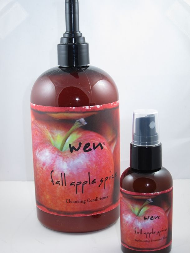 WEN Fall Apple Spice Cleansing Conditioner - love this Collection of cleansing hair products