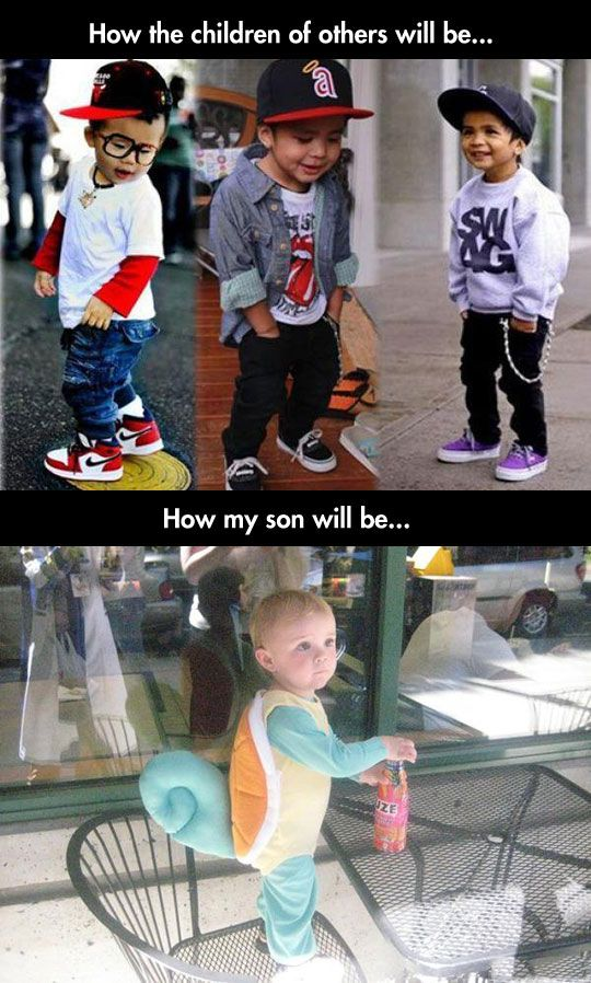 Kids Need a Childhood // funny pictures - funny photos - funny images - funny…