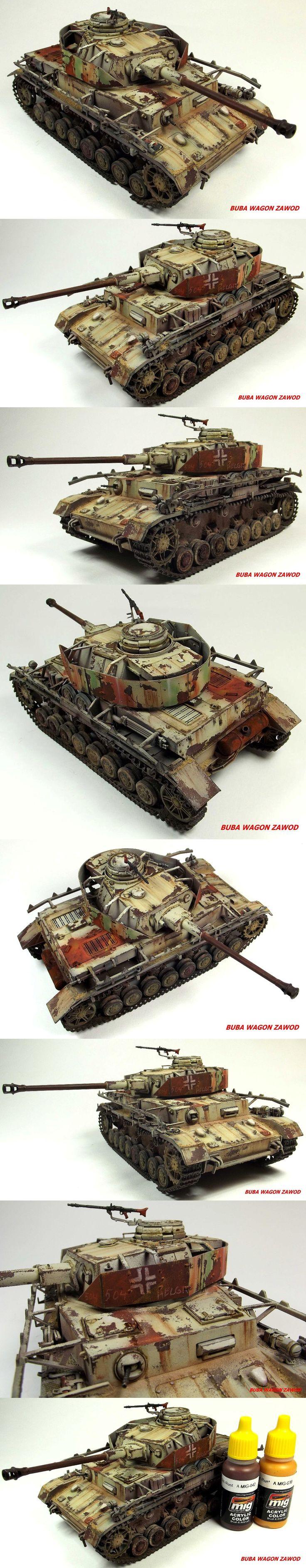 Rust in peace Panzer IV ;) -Tamiya 1:35