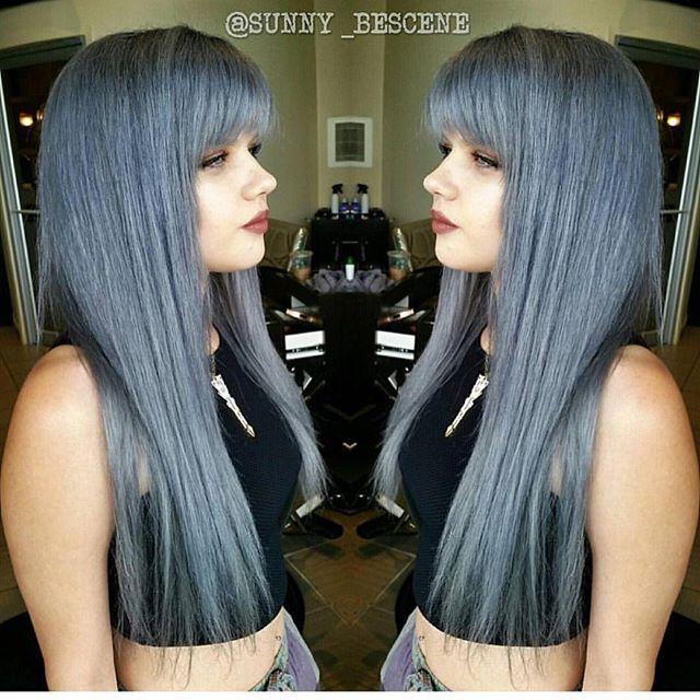 79 besten Silver Gray Charcoal Granny Hair Color Bilder ...