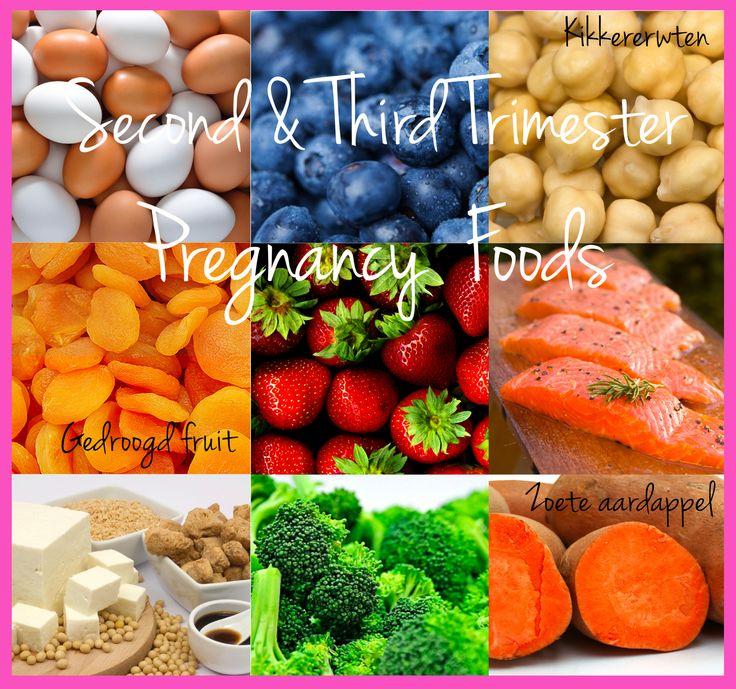 Tweede en derde trimester super food!