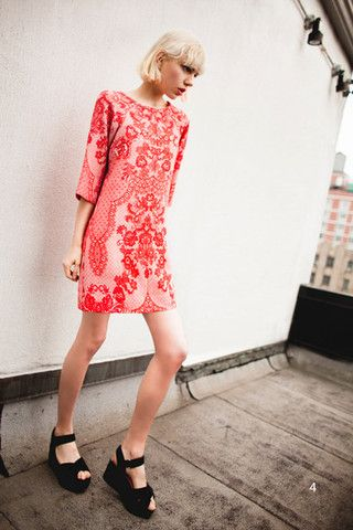 Neo Lace Tunic Dress | Silk&Burlap