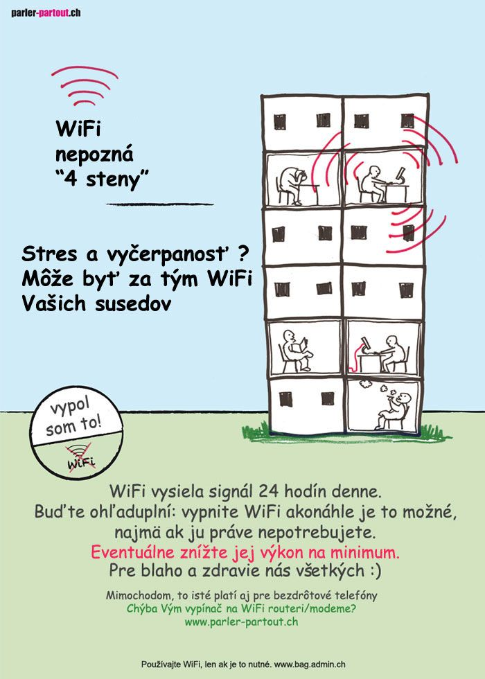 ELEKTROSMOG - Wi-Fi - info, limity, meranie, účinky, možnosti ochrany