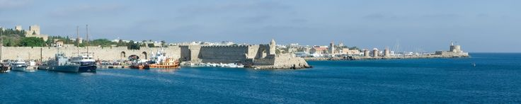 Rhodes in the Dodecanese Islands of Greece, from http://www.greece-travel-secrets.com/Rhodes.html