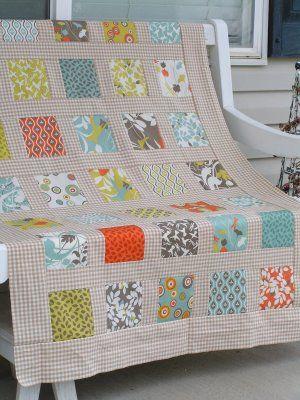 Easy block quilt.