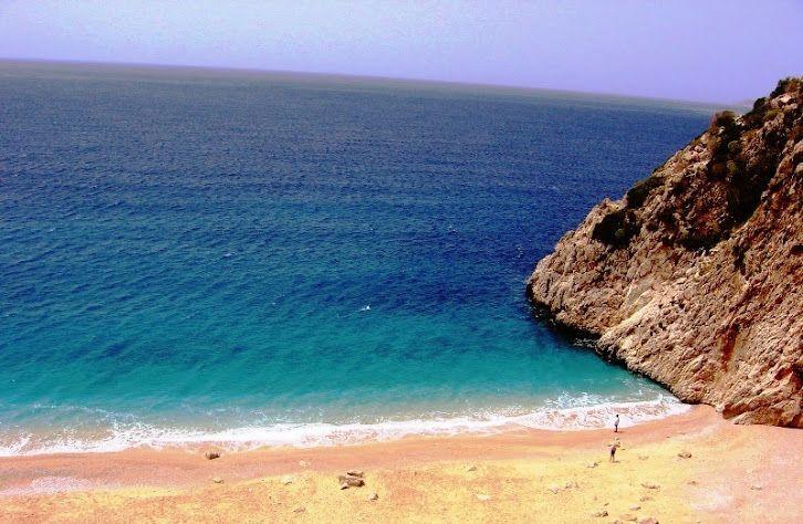 Kaputas Plaji , Kas, Turkiye