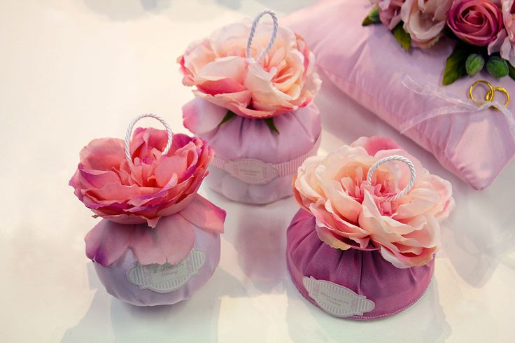 #Bomboniere con rose per #wedding RDM design.