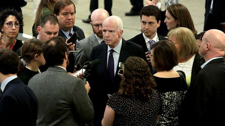 McCain: No last-minute deal to avoid 'nuclear' fight over Gorsuch  -  April 5, 2017