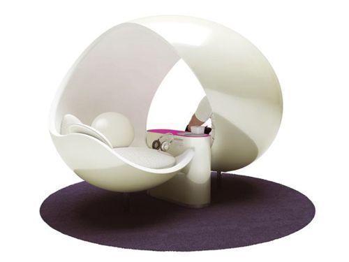 Ice lounge Design Designer Claudio Colucci like ice cream