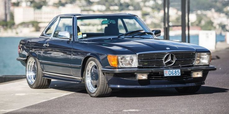 Michael Schumacher's Mercedes 560SL Was a Hammer on Wheels  ​One of three built by the original AMG.​