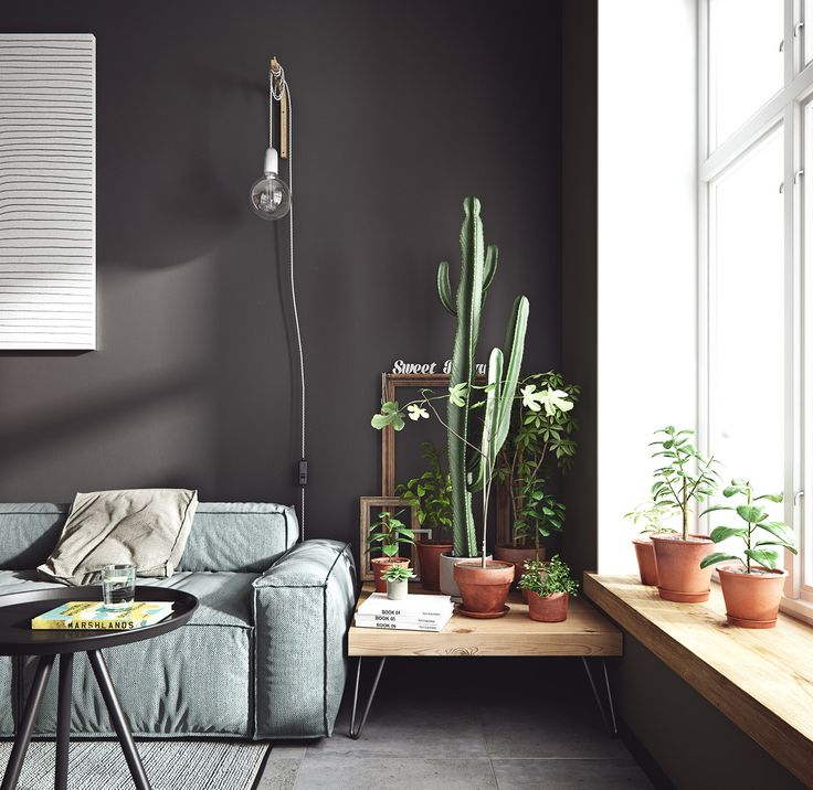 Un mini appartement aux couleurs scandinaves - PLANETE DECO a homes world