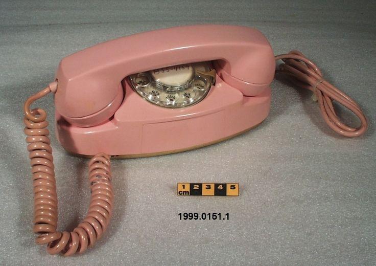 1995 Northern Electric Princess rotary desk phone #HotlineBling #Retro #pink