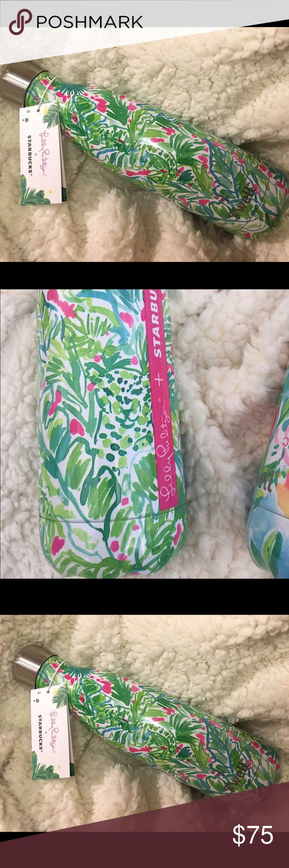 Lilly Pulitzer + Starbucks Swell Bottle Jungle Brand new with tags Lilly Swell bottle! Green cheetah pattern. SOLD OUT IN STORES AND ONLINE Swell Other