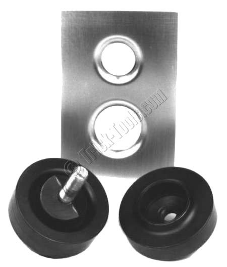 mittler brothers punch and flare tools are used to lighten sheet metal panels and increase strength in one easy step