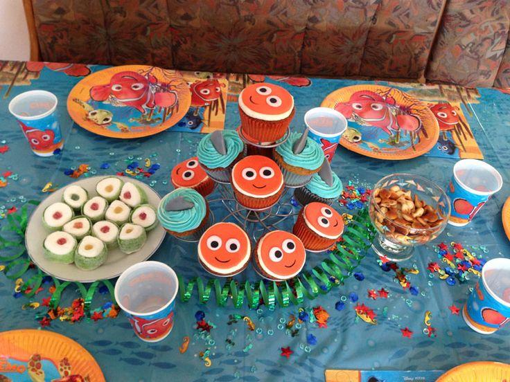 Nemo und Hai-Muffins, Marshmallow-Maki