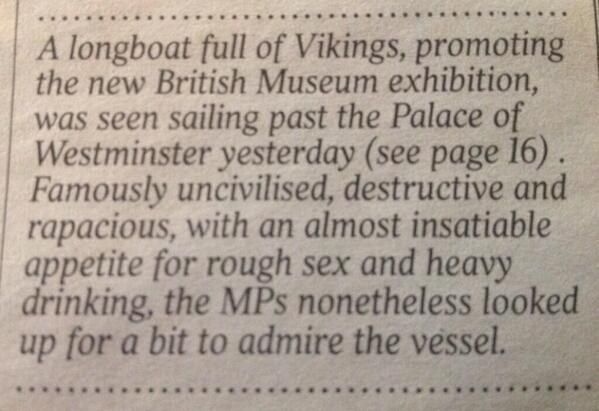 This news story in The Times.   37 Things Only British People Will Find Amusing
