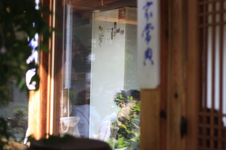 korean traditional cafe