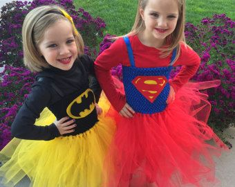 Super Hero Tutu Halloween Costume Batman Robin by shoppe3130