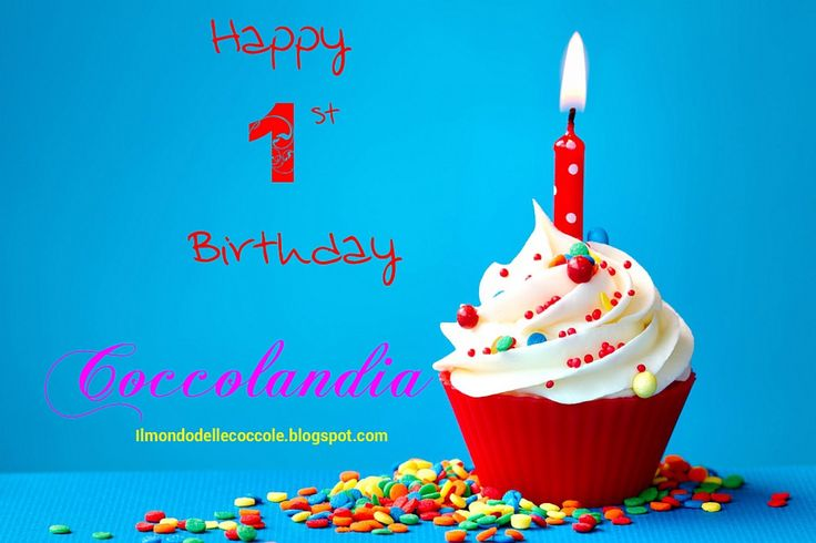 Compliblog: cupcake Happy Birthday Coccolandia.