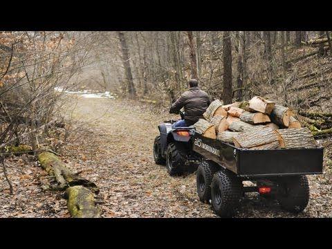 ABI Workman XL dual axle ATV dump trailer
