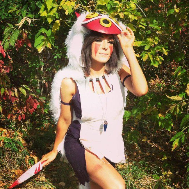 There's a wolf-girl among us! This might be one of our favorite interpretations of San (AKA Princess Mononoke) so far. Enjoy!