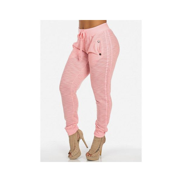 Juniors Joggers | Cheap Joggers | High Waist Joggers | Ladies Joggers... ❤ liked on Polyvore