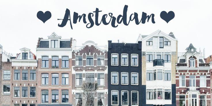 La plus jolie ville du monde ♥︎ Hop hop hop, voilà mon petit compte rendu d'Amsterdam. Je n'y ai passé que quelques jours donc je pense que j'ai vraiment survolé la ville. On avait envie…