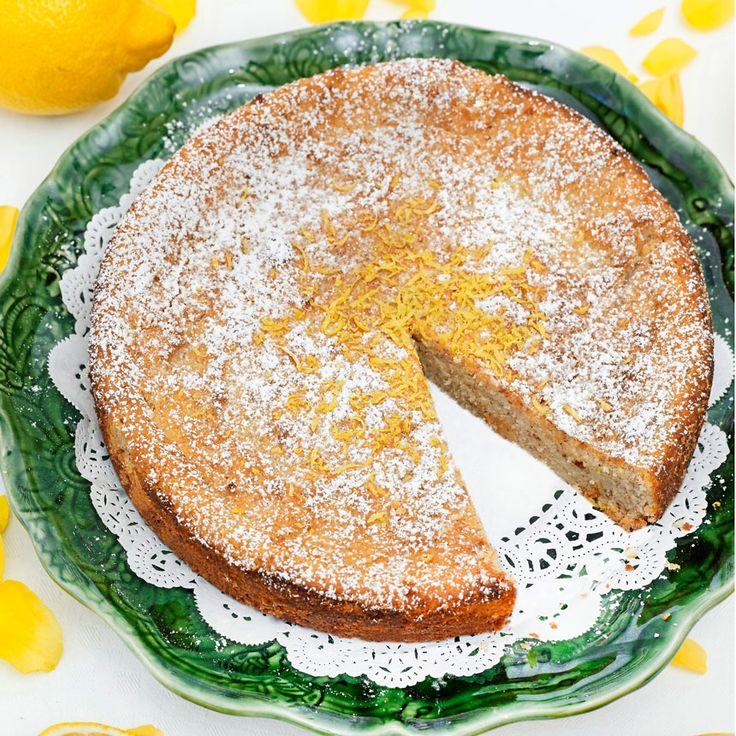 Lemon-a-mandľový koláč