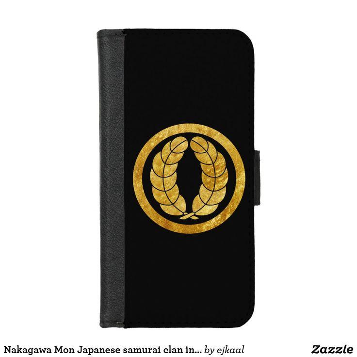 Nakagawa Mon Japanese samurai clan in faux gold