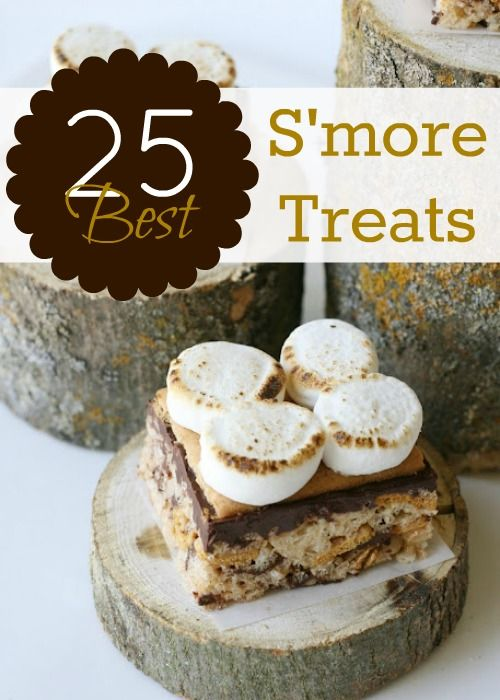25 Best S'more Recipes! remodelaholic.com #s'mores #recipe #summer #camping