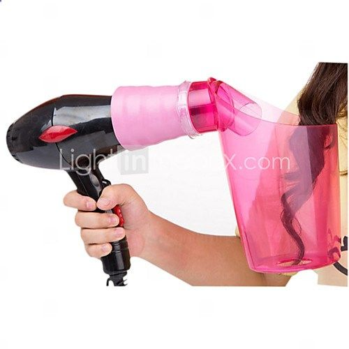 2016 Magic Hair Styling Tools Professional Hair Curler Air Curler Hair Dryer Hood Attachment Curling Styling Beauty Tool - NZD $13.21