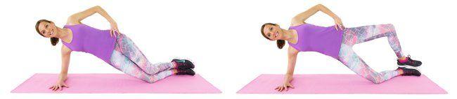 Kneeling+Side+Plank+Clamshells