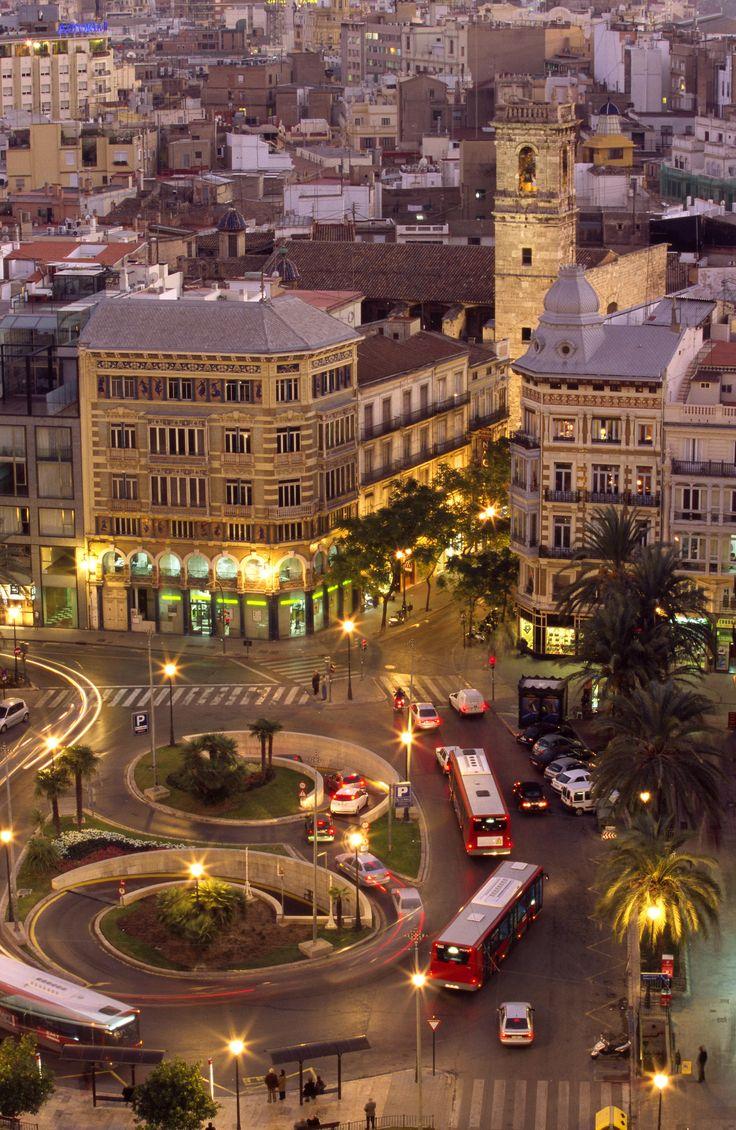 Valencia's old city centre