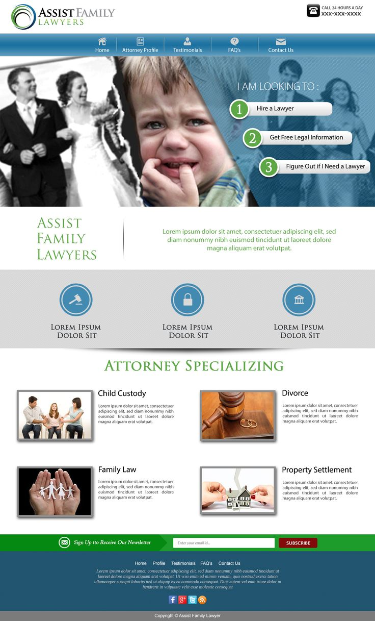 Assist family lawyer