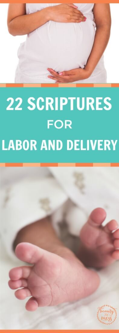 Labor is hard and intense. Here are 22 Scriptures for labor to meditate and focus on during contractions as you bring your little one into the world. via @wdcornelison