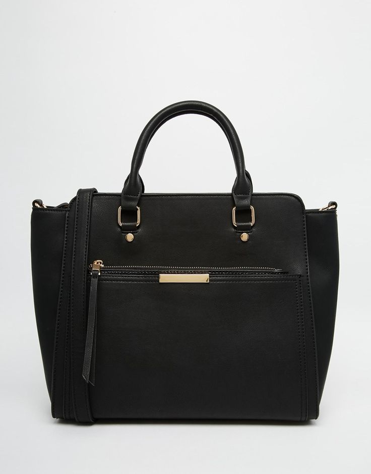 Image 1 of Oasis Tote Bag With Zip Front Pocket
