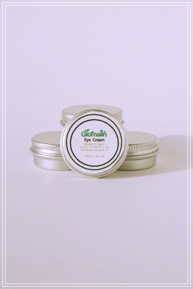 Glomalin Eye Cream made from certified organic ingredients, shop at www.glomalin.ca