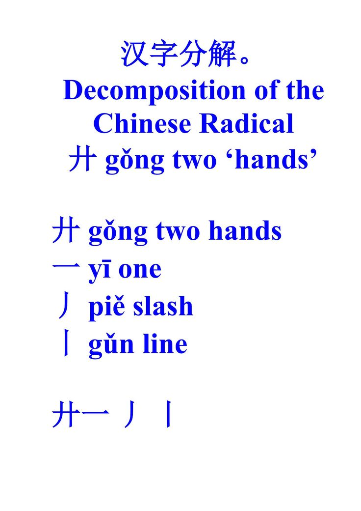 97 best chinese character decomposition images on pinterest the chinese character decomposition guidance by polina shinkina ebook fandeluxe Gallery