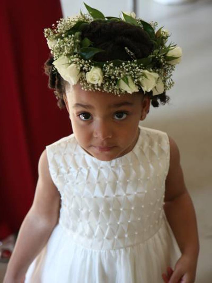 Lil Black Girl Hairstyles For Wedding : Little black girls hairstyles for weddings http