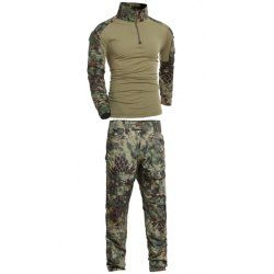 SHARE & Get it FREE | Men's Stand Collar Outdoor Half Zip Frog Camo Suits(T-Shirt +Pants)For Fashion Lovers only:80,000+ Items • FREE SHIPPING Join Nastydress: Get YOUR $50 NOW!