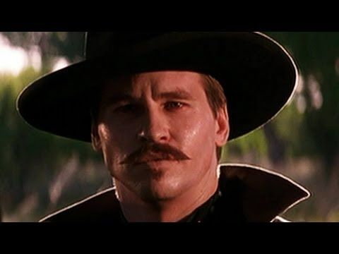 """OMG such a good scene. """"I'm Your Huckleberry"""" Val Kilmer as Doc Holiday from Tombstone!!"""