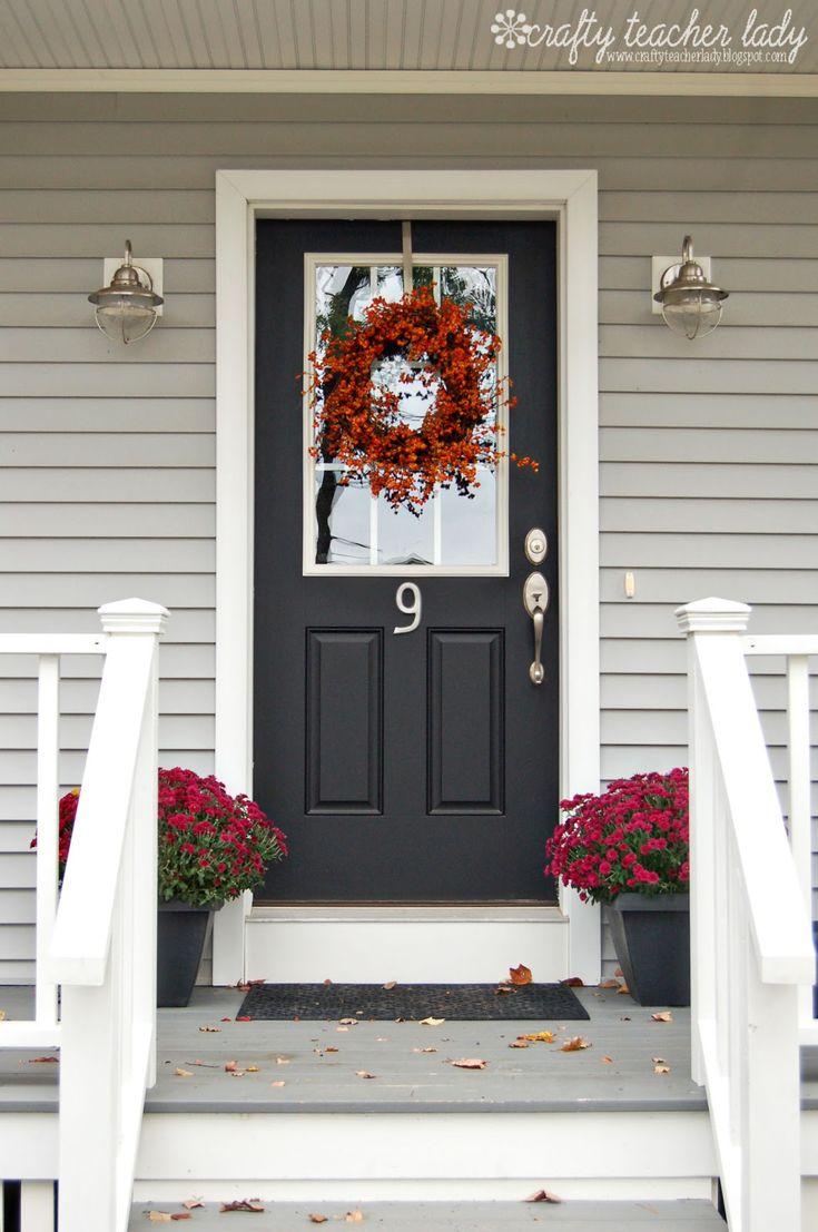 Love this front door... Crafty Teacher Lady