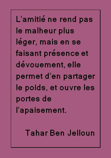 Citation - Ben Jalloun #quotes, #citations, #pixword